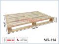 MR-114 paleta drewniana jednorazowa suszona 1200x800x130 (mm)