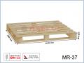 MR-37 paleta drewniana jednorazowa suszona ramowa 1150x980x125 (mm)