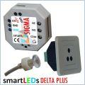 smartLEDs DELTA PLUS Czujnik ruchu z modułem czasowym, wbudowanym wyłącznikiem zmierzchowym i sondą