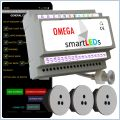 Zestaw smartLEDs OMEGA Exclusive - Inteligentne Schody LED z połpiętrem